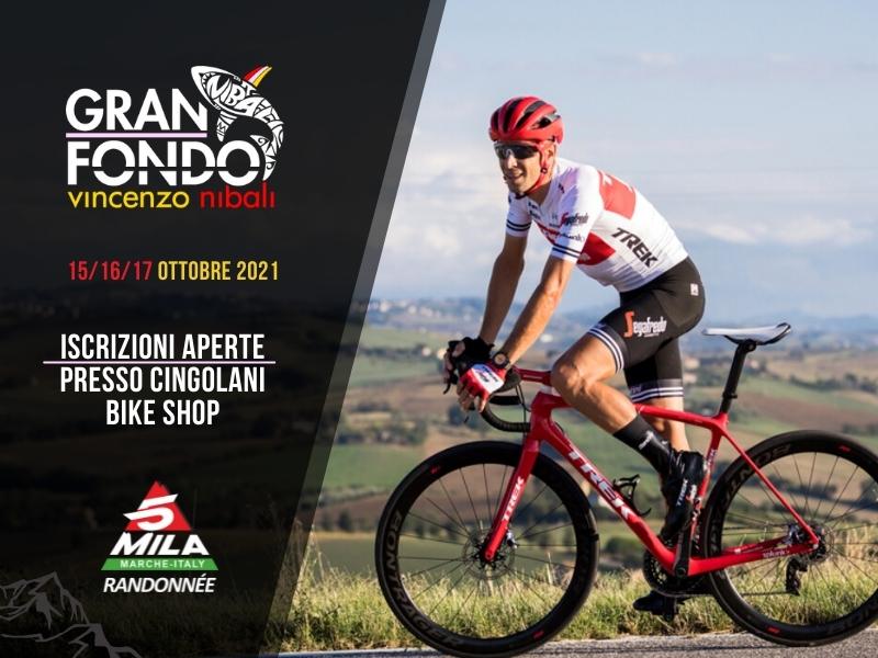 Granfondo Nibali e 5mila Marche - Iscriviti da Cingolani Bike Shop