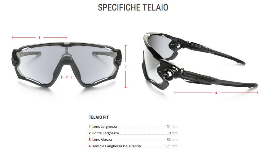 840b1f2a42b Oakley Jawbreaker fotocromatico nero lucido lenti clear black iridium